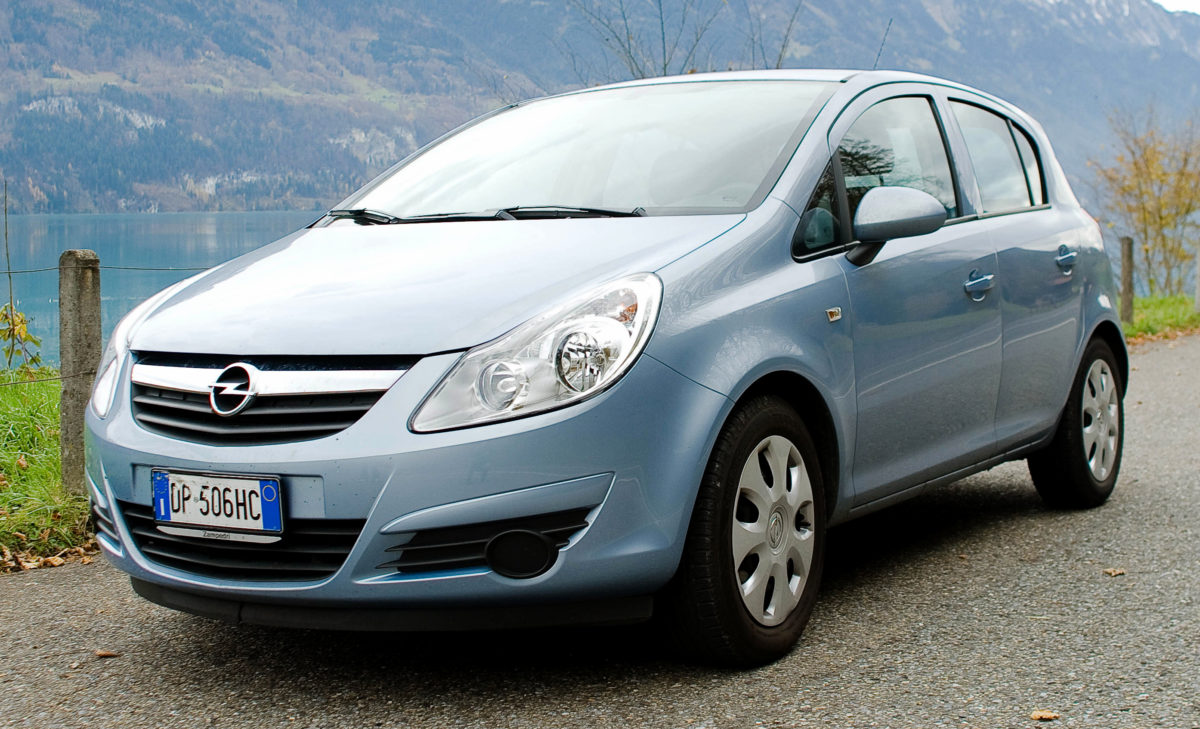 Opel Corsa (it's a test)